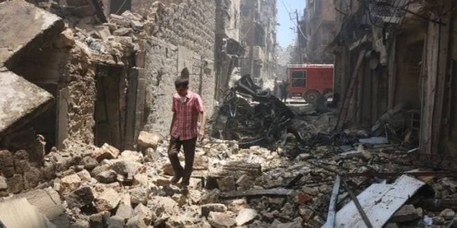 Syria Aleppo 2016. Yahoo.