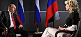 Megyn Kelly and Putin, St. Petersburg, Herland Report Getty