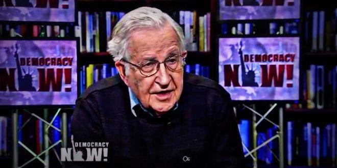 Noam Chomsky, John Pilger letter warn blowback on War Strategy
