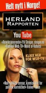Følg Herland Report nett-TV: Vi når millioner årlig.