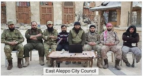 East Aleppo CIty Council Eva Thomassen Herland Report Syria