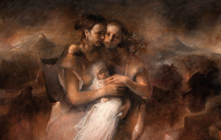 Odd Nerdrum Crime and Refuge:  Herland Report