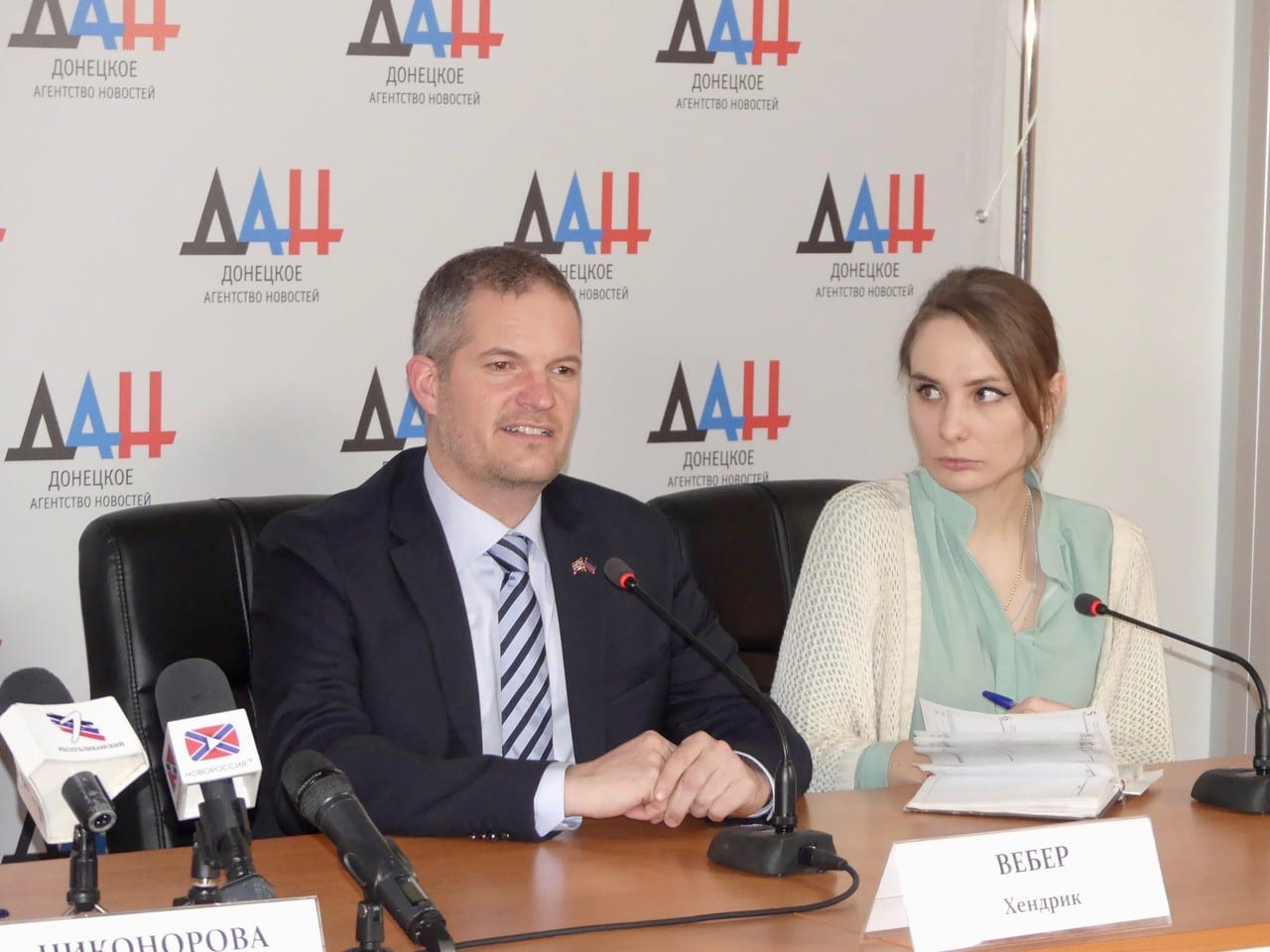 People Diplomacy Norway, Hendrik Weber, Donetsk, Herland Report