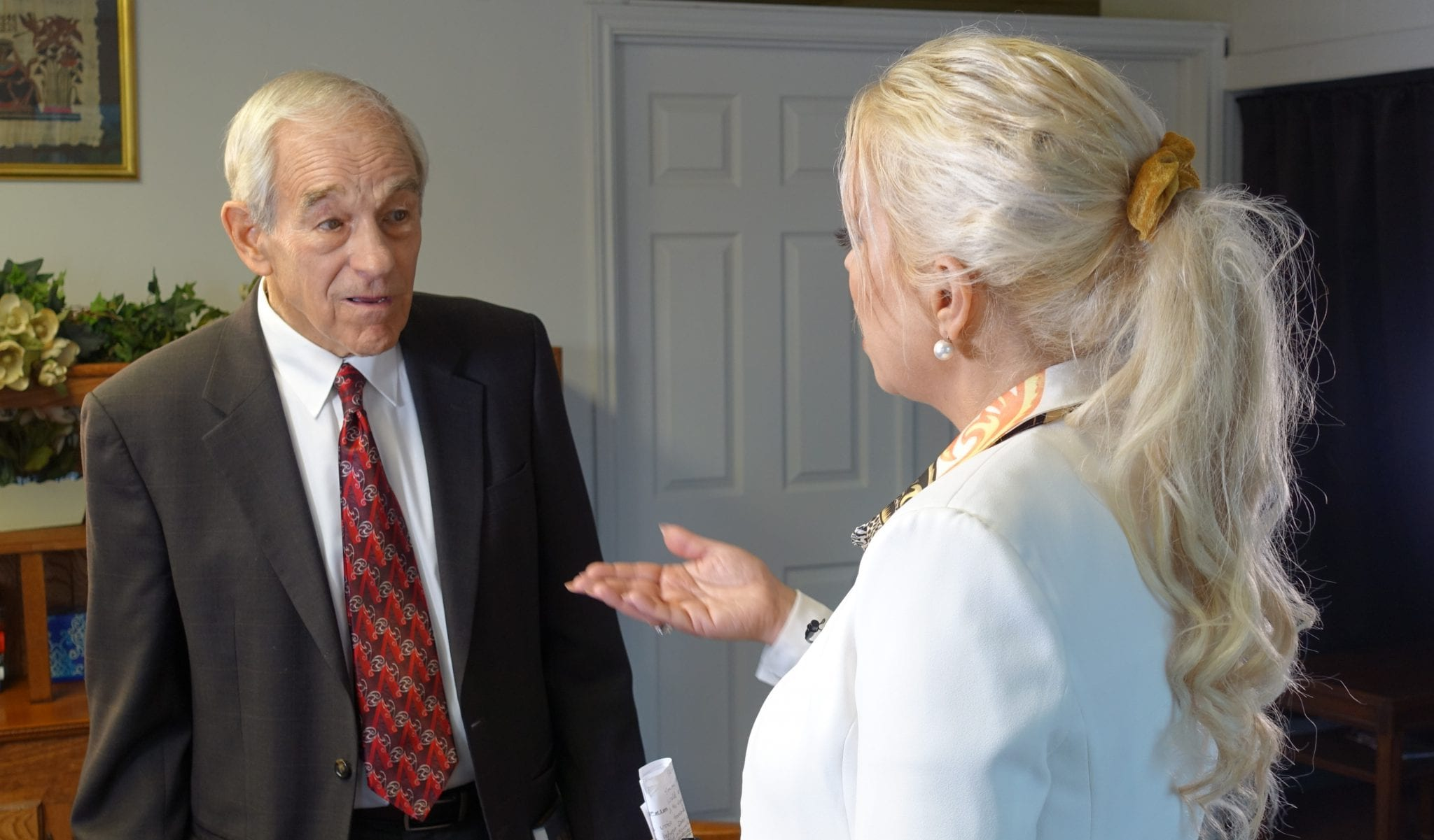 Dr. Ron Paul Hanne Herland Report Interview