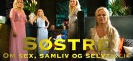 TV serie Søstre, Herland Report med Line Ekelund, Anne Kristin Hognestad, Beate Alstad, Mona Hartmann, Gro Elisabet Sille og Hanne Nabintu Herland.