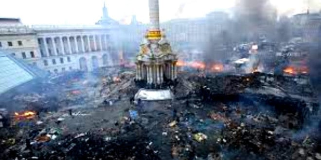 Fascisme og feiring av NAZI symboler i vestlig støttet Ukraina