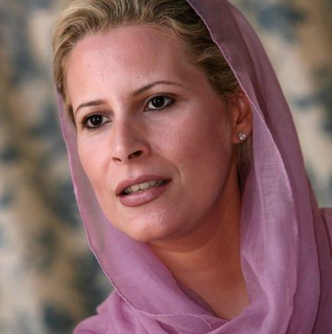 Aisha Gaddafi, daughter of Safia Farkash, Telegraph Herland Report