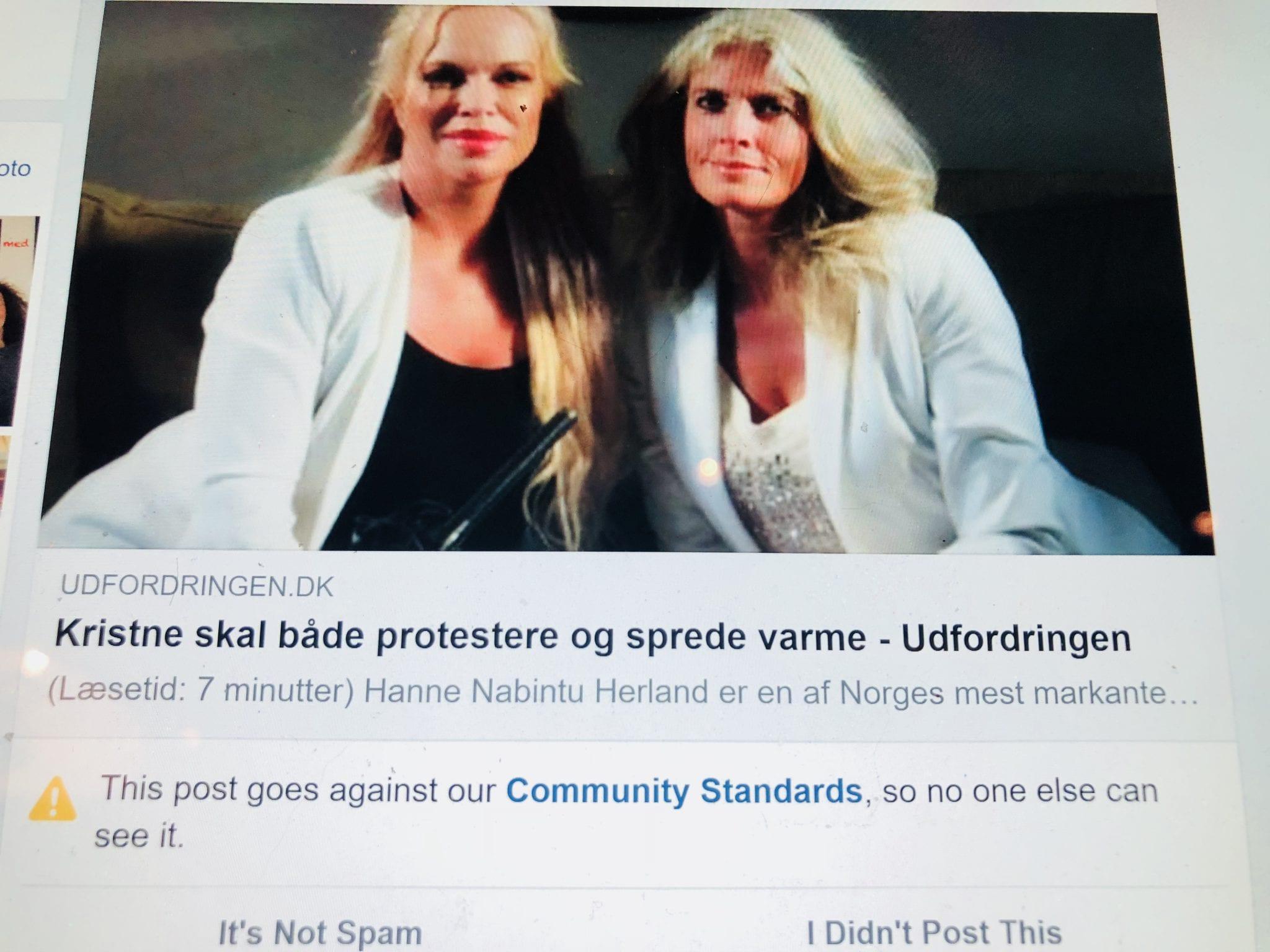 Iben Thranholm Hanne Herland artikkel danmarks Udforingen