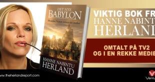 Biskop Tor B. Jørgensen og Hanne Nabintu om kristendommens betydning for Europa Kristendom har massiv betydning Det Nye Babylon av Hanne Nabintu, Herland Report