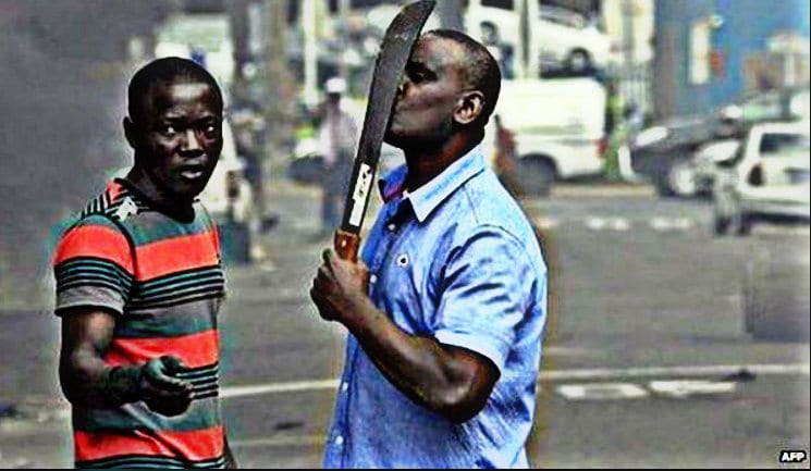 Looting of Africa Kill the Whites South Africa West support Marxist ANC in South Africa to destroy?