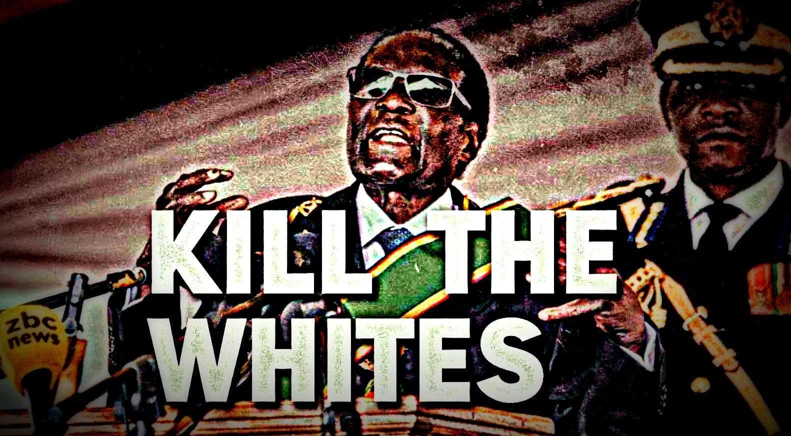 White Genocide: Apartheid against Whites: Robert Mugabe.
