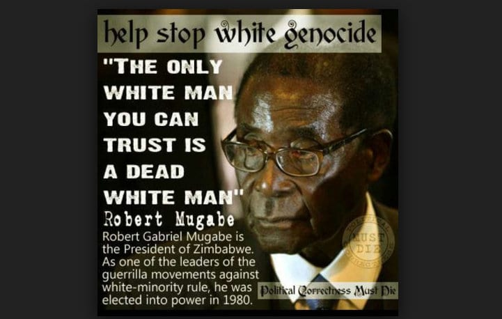Looting of Africa Kill the Whites South Africa
