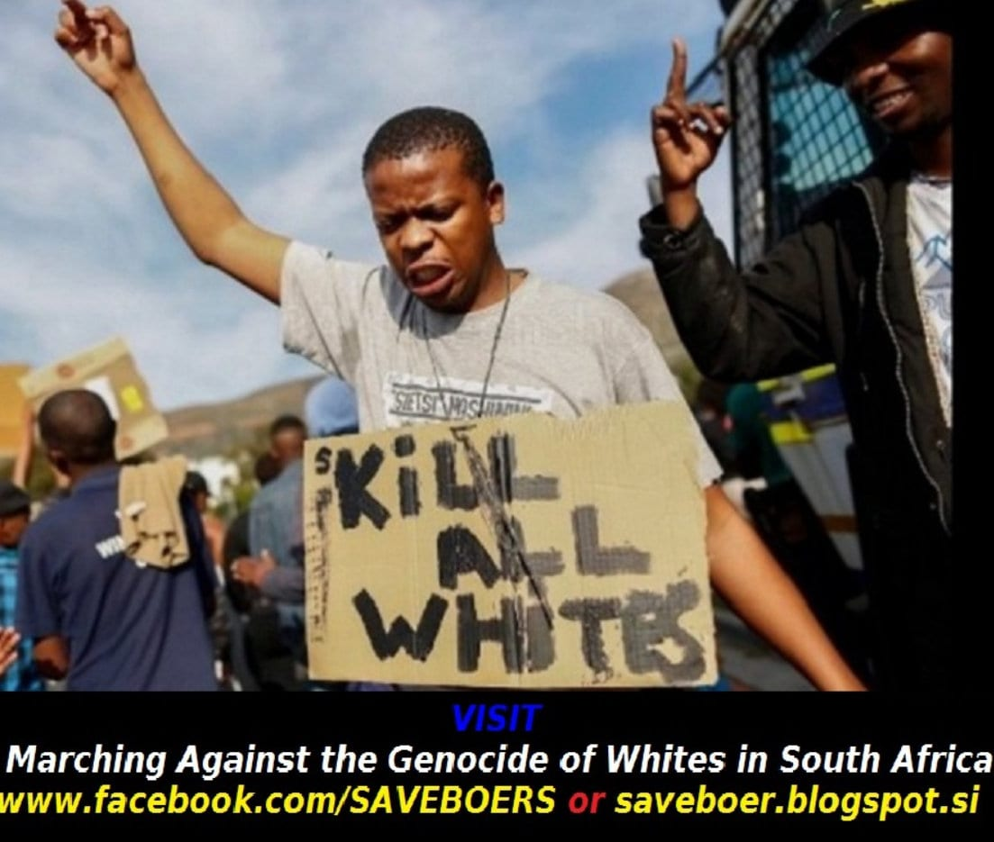 Do White People Have A Future? ANC South Africa racism