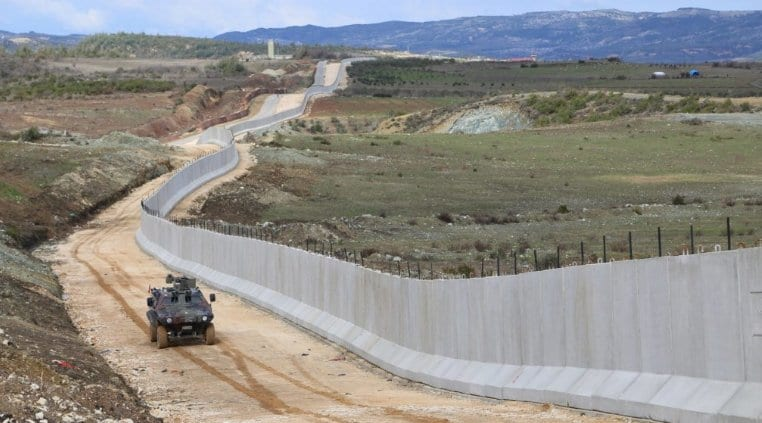 EU and Europe funded Turkey wall