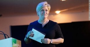 Siv Jensen CNN Getty