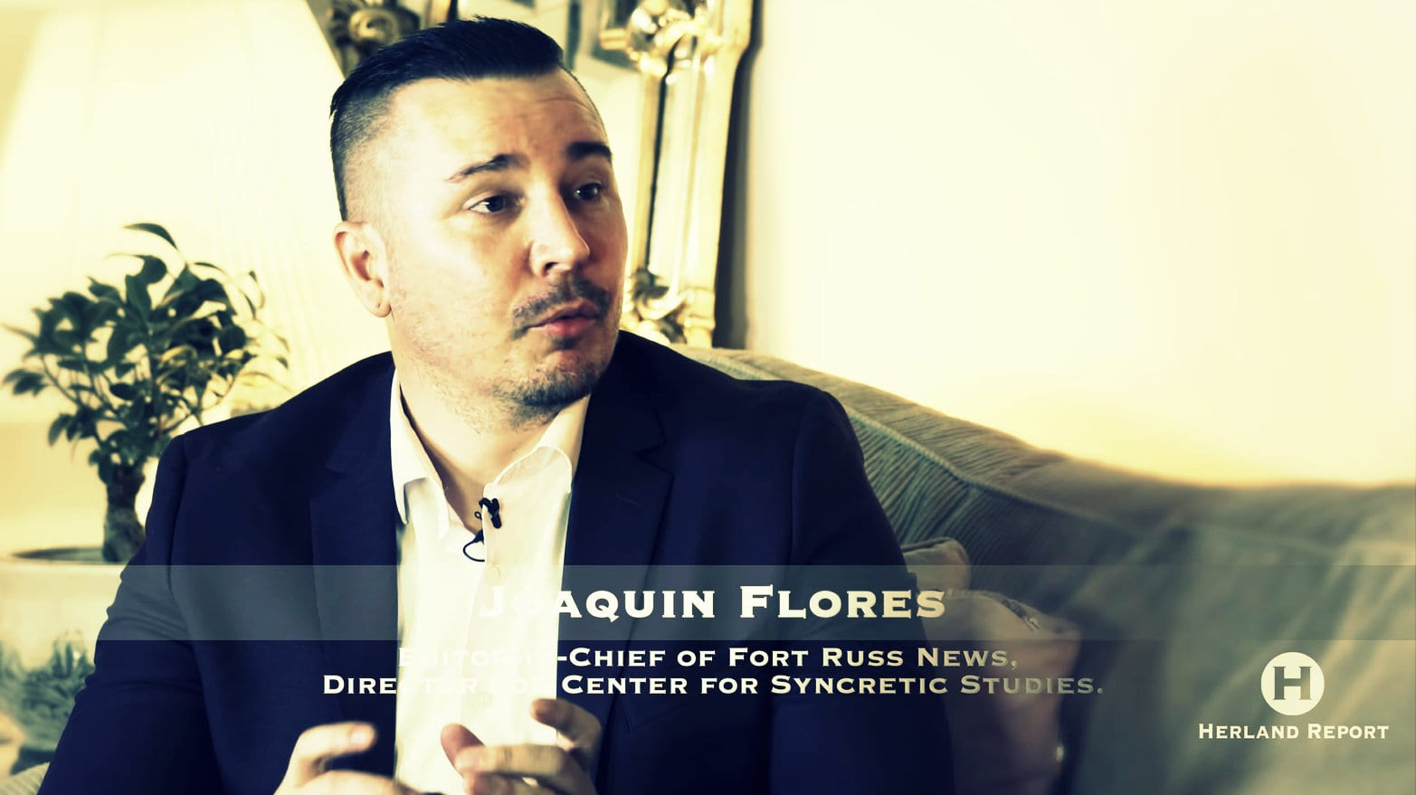 How to start a Revolution Joaquin FLores Herland Report