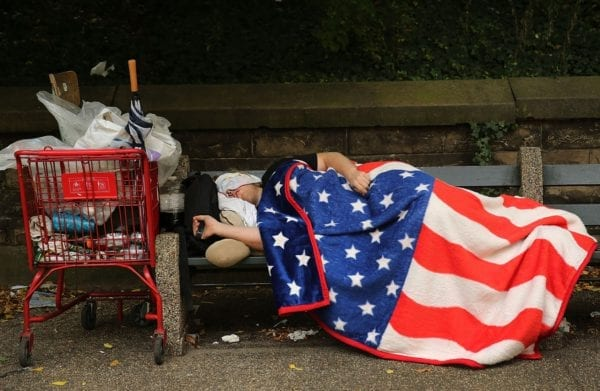 USA poverty Huffington Post. Watching America Collapse