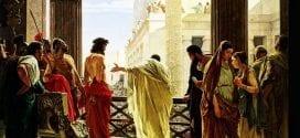 Easter Pilate Jesus Painting Herland Report