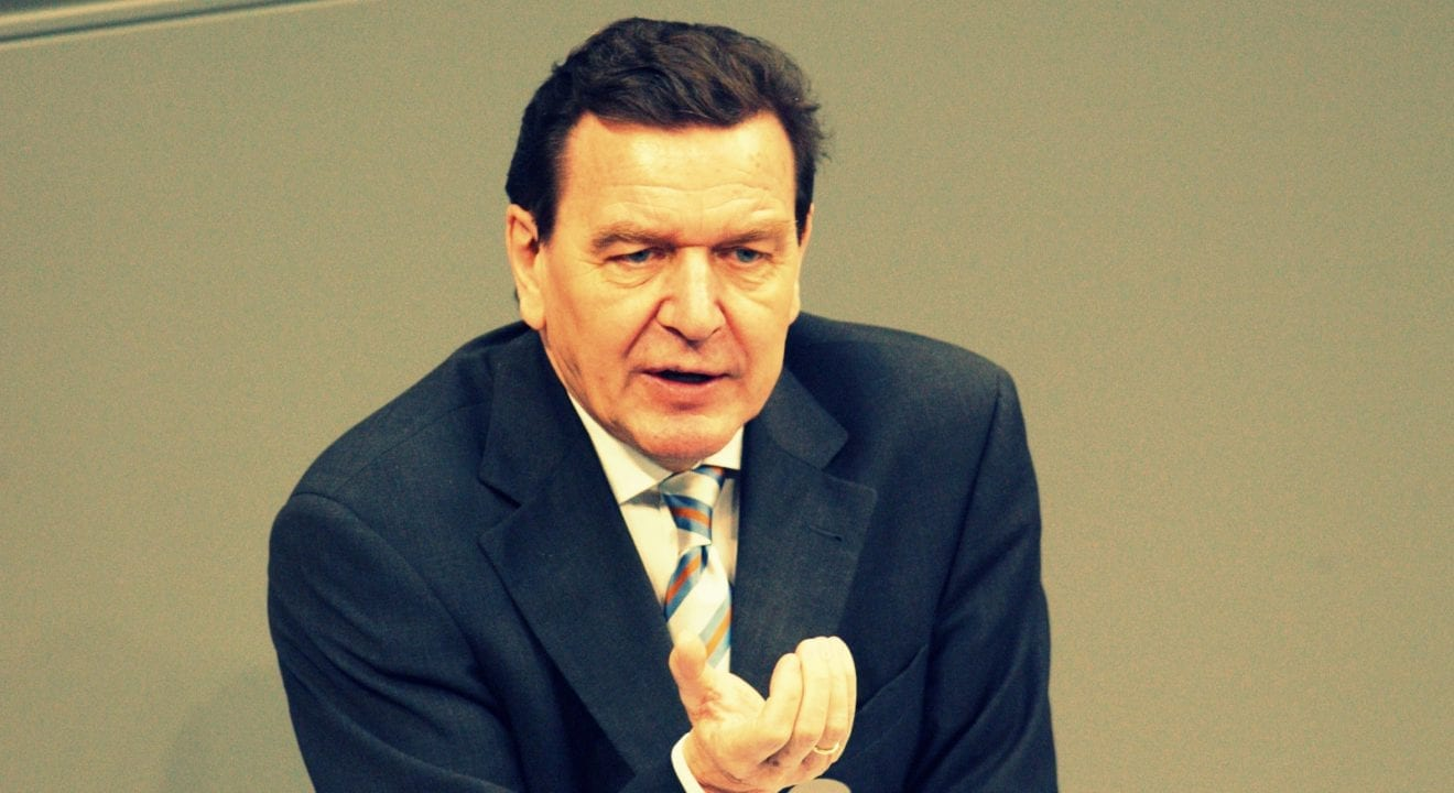 Former German Chancellor Schröder says Crimea reunification with Russia Legal and Justified, Joaquin Flores, Herland Report