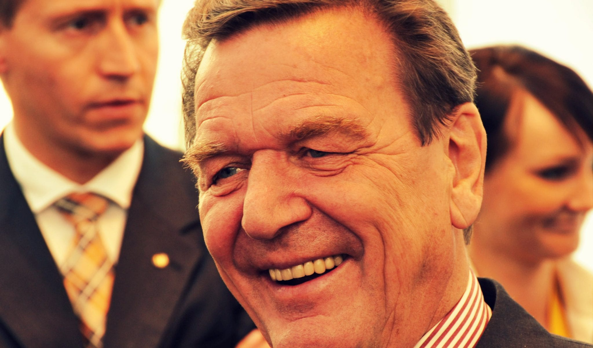 Gerhard-Schroeder-Germany-Getty Crimea reunification is Legal: