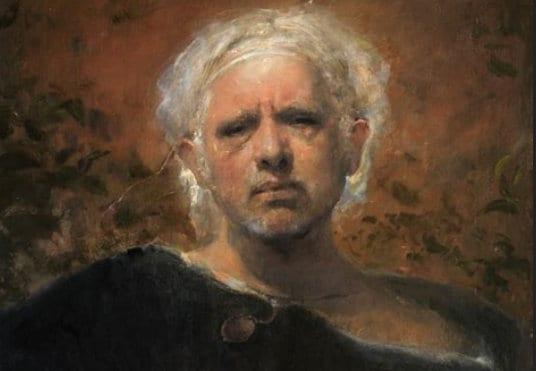 Odd Nerdrum Crime and Refuge: Tribute to a living legend, Hanne Nabintu