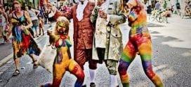 Pride uken er grovhedonistisk dildoparade, Herland Report