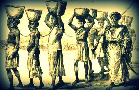 Why the silence on White Slavery? White slavery was normal in the Bysantine Period: