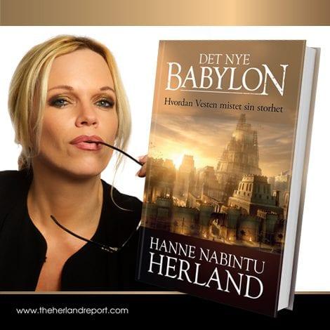 Det nye Babylon, bok av Hanne Nabintu Herland.