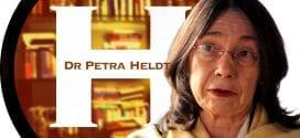 Dr. Petra Heldt, Hebrew University. Photo Herland Report.