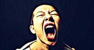 angry woman scream huffington post