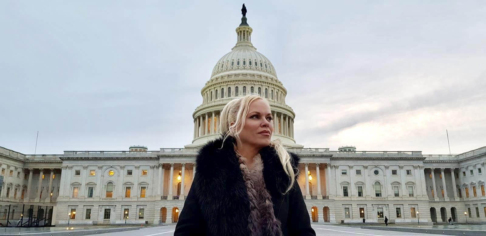 Hanne Nabintu Herland Report Capitol Hill Washington DC