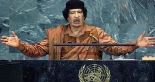 Muammar Gaddafi in the UN AP Herland Report