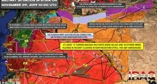 Southfront Syria Military Map Nov 9th 2019