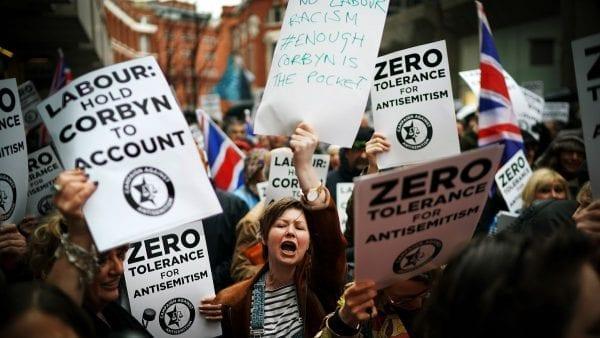 Getty antisemitism jeremy corbyn israel