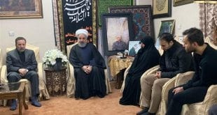 Hassan-Rouhani-offers-condolences-to-Soleimani-family iran