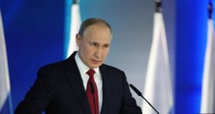 Putin's Radical Reforms Putin 2020 state of the nation adress January Kremlin Photo