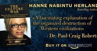 The Culture War. How the West lost its Greatness. Paul Craig Roberts