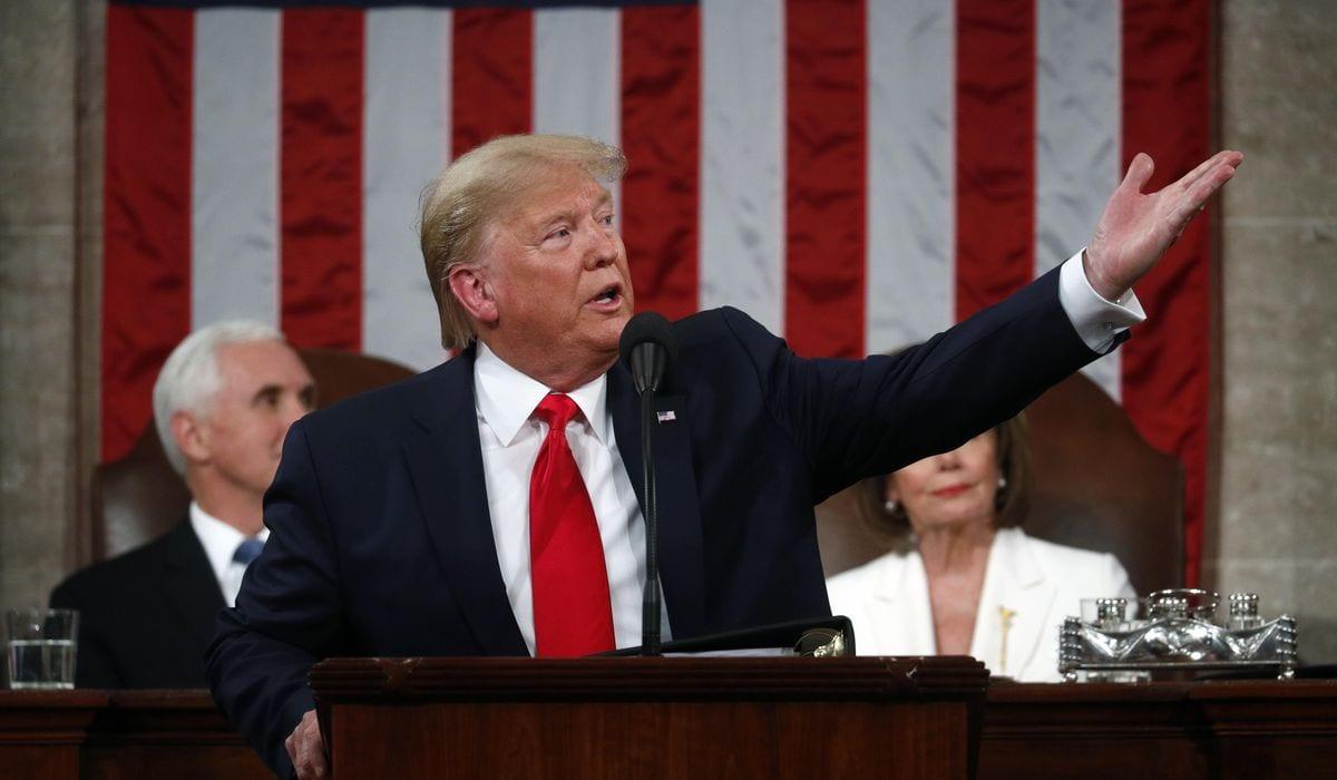 Nancy Pelosi is the rudest female in America DailyNewsMax-donald-Trump-state-of-the-union-pelosi