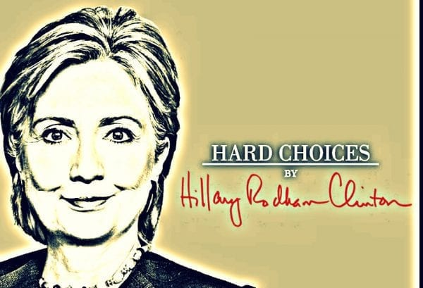 NORWAC humanitær hjelp blir politisk part i krig: HIllary Clinton Hard Choices