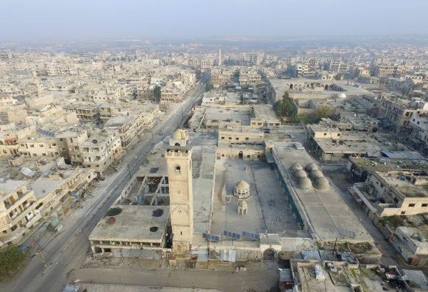 NORWAC humanitær hjelp blir politisk part i krig: Idlib. Aladolu.