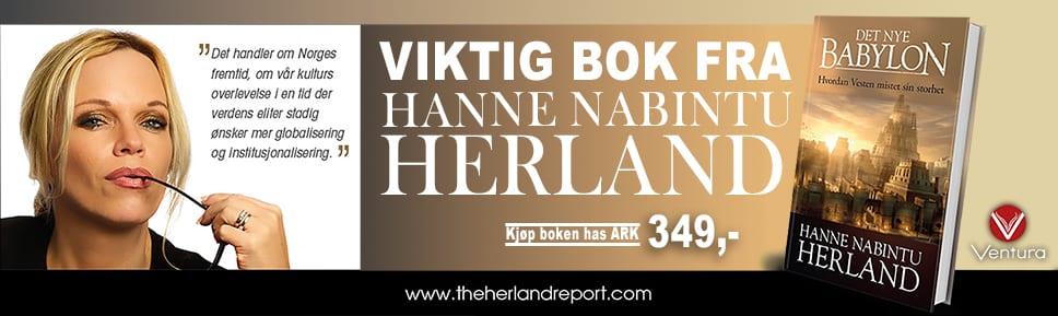 Hanne Nabintu Herland ny bok Det Nye Babylon