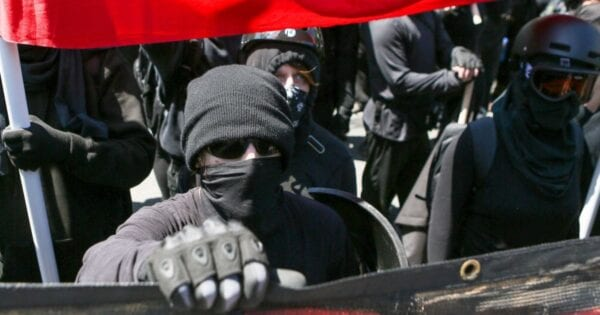"Communist Antifa ""Red Army Faction"" use brutal force to implement US anarchy: Getty"