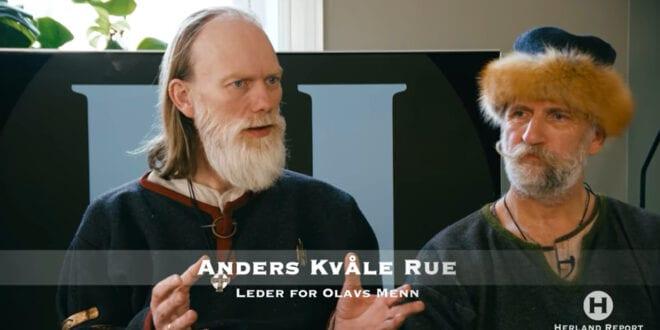 Eksklusivt intervju med Saga illustratør viking, Anders Kvåle Rue fra Olavs Menn, Hanne Nabintu Herland Report