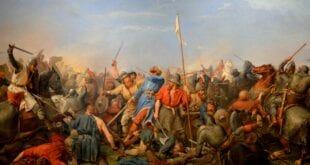 1066: The last Viking king Harald Hardrada attacks England at Stamford Bridge Norway, Herland Report