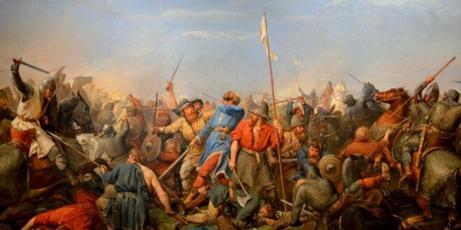 1066: The last Viking king Harald Hardrada attacks England at Stamford Bridge Norway, Herland Report