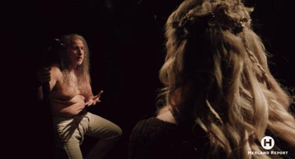 Lars Magnar Enoksen interview on VIKING TV series, Glima, Heathenry, Odin, Thor - Hanne Nabintu Herland Report